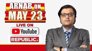 Republic TV LIVE | Watch 2019 Lok Sabha Election Results LIVE With Arnab Goswami