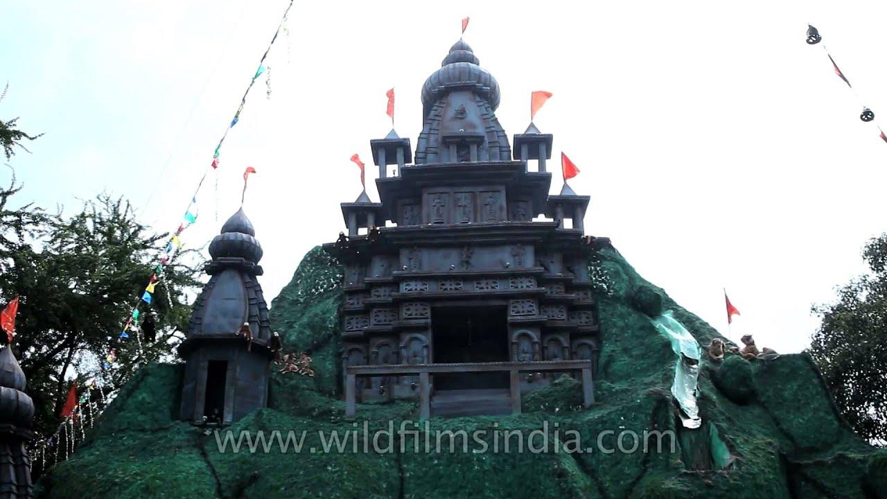 Durga puja pandal kolkata theme shiva temple youtube thecheapjerseys Choice Image