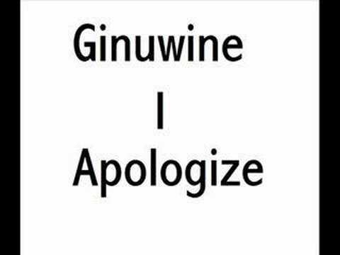 I Apologize  Ginuwine 2007