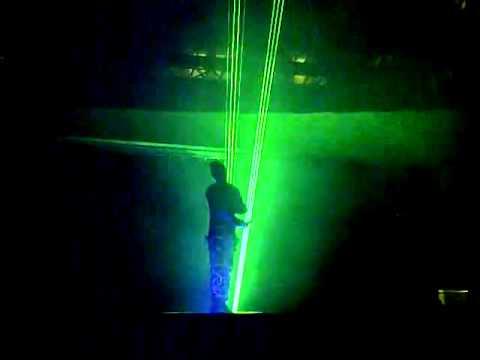 Laser Dance Orgazm Telekom nap Budapest