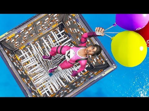 Fortnite YOU TOUCH THE TRAPS YOU LOSE! Can You Escape The Room? (Fortnite Creative Mode)