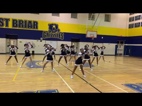 West Briar Middle School 2018 Cheer Fall Show