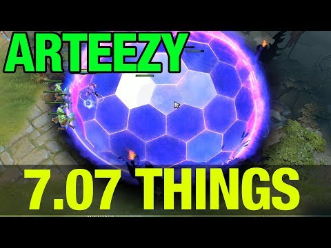 7.07 THINGS ! - ARTEEZY FACELESS VOID - Dota 2