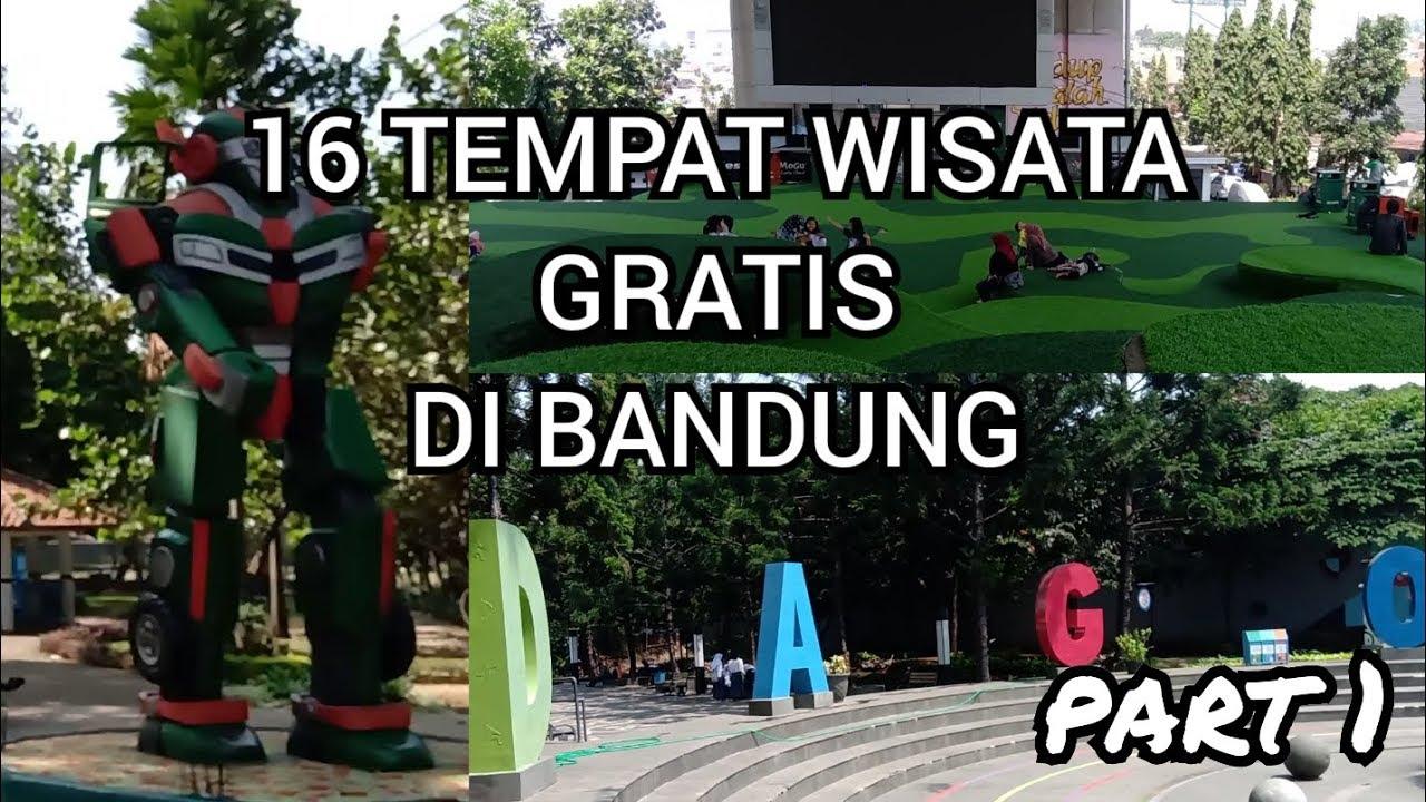 16 Tempat Wisata Gratis Di Bandung Part 1