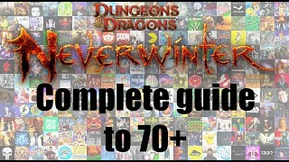 Neverwinter - Complete Intro to level 70 (Josh Strife Hayes)