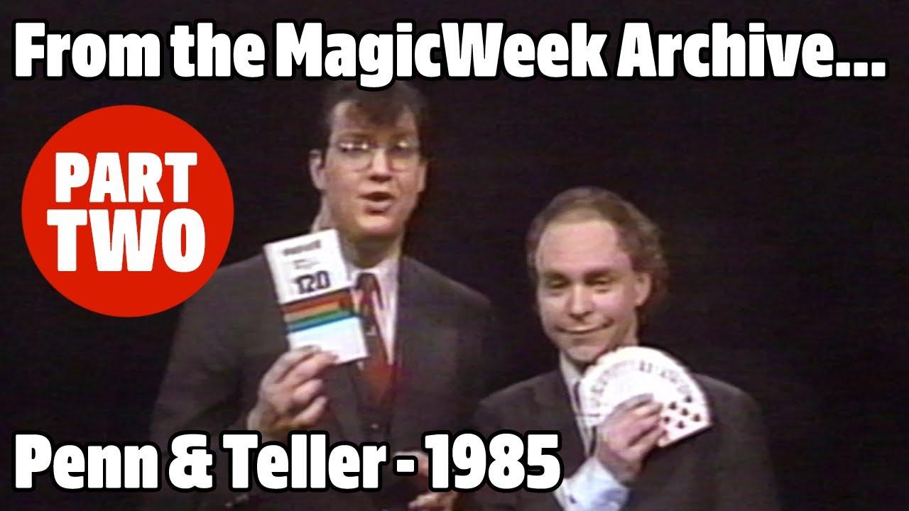 Download Penn and Teller Go Public - Part 2 - Magicians - 1985