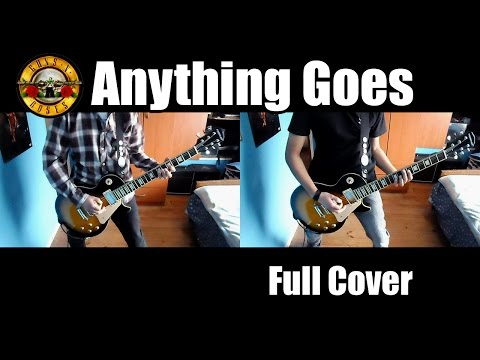 Guns N' Roses - Anything Goes Full cover with solo HD