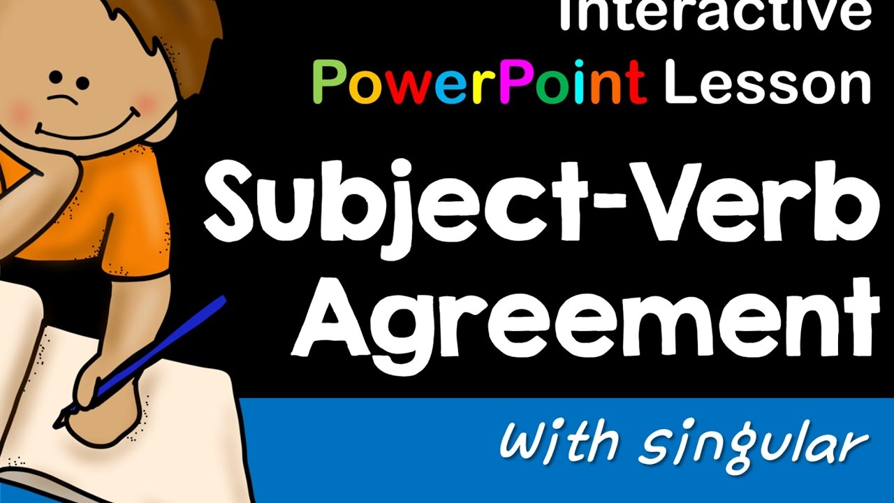 Interactive Powerpoint Subject Verb Agreement Preview Youtube