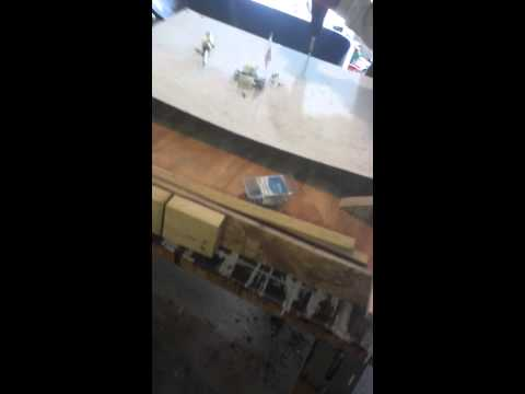 Building a custom beyblade stadium out of wood