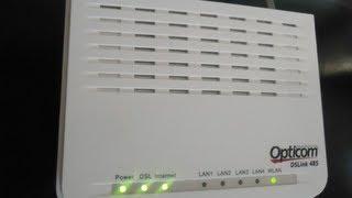 Como configurar o modem roteador ADSL DSLink 485 GVT para acesso a internet e compartilhamento