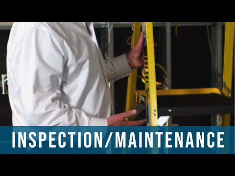 How To Inspect And Maintain Your Ladder | Safety, Hazards, Training, Oregon OSHA
