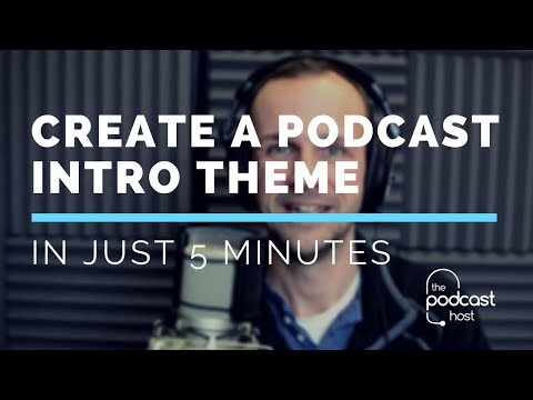 Create Intro Music for your Podcast in Just 5 Minutes