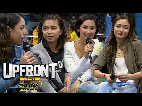 Former ADMU & DLSU star players take the hot seat | Women's Volleyball | Upfront at the UAAP
