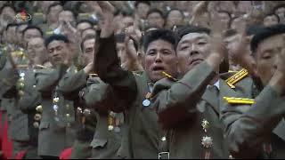 조선인민군 제1차 지휘관, 정치일군강습회 진행경애하는 …