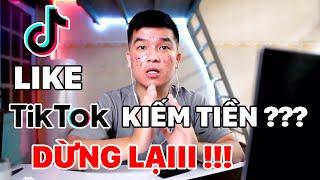 Lừa Đảo | Like Video TIKTOK Kiếm Tiền Triệu Mỗi Ngày Golden Hand, Share Profit ... VV  | Dvlog