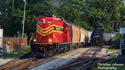 Florida Central Railroad switching Frito Lay