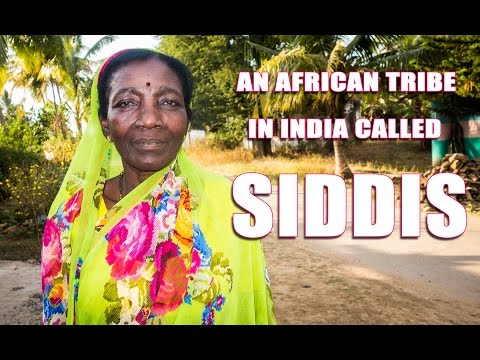 An African Tribe In India Called SIDDIS