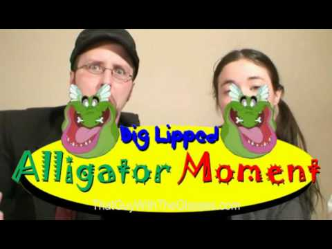 What is big lipped alligator moment?