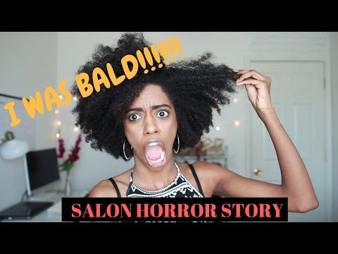 She cut off all my hair!!!! | Hair Salon Horror Story