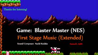 Blaster Master (NES) - Stage Music (Extended OST)