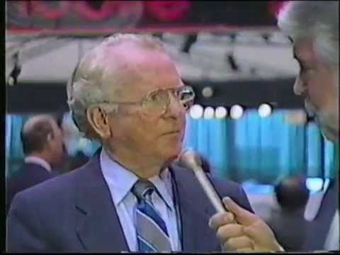 General Motors Chairman Roger Smith Interview at the 1988 Chicago Auto Show