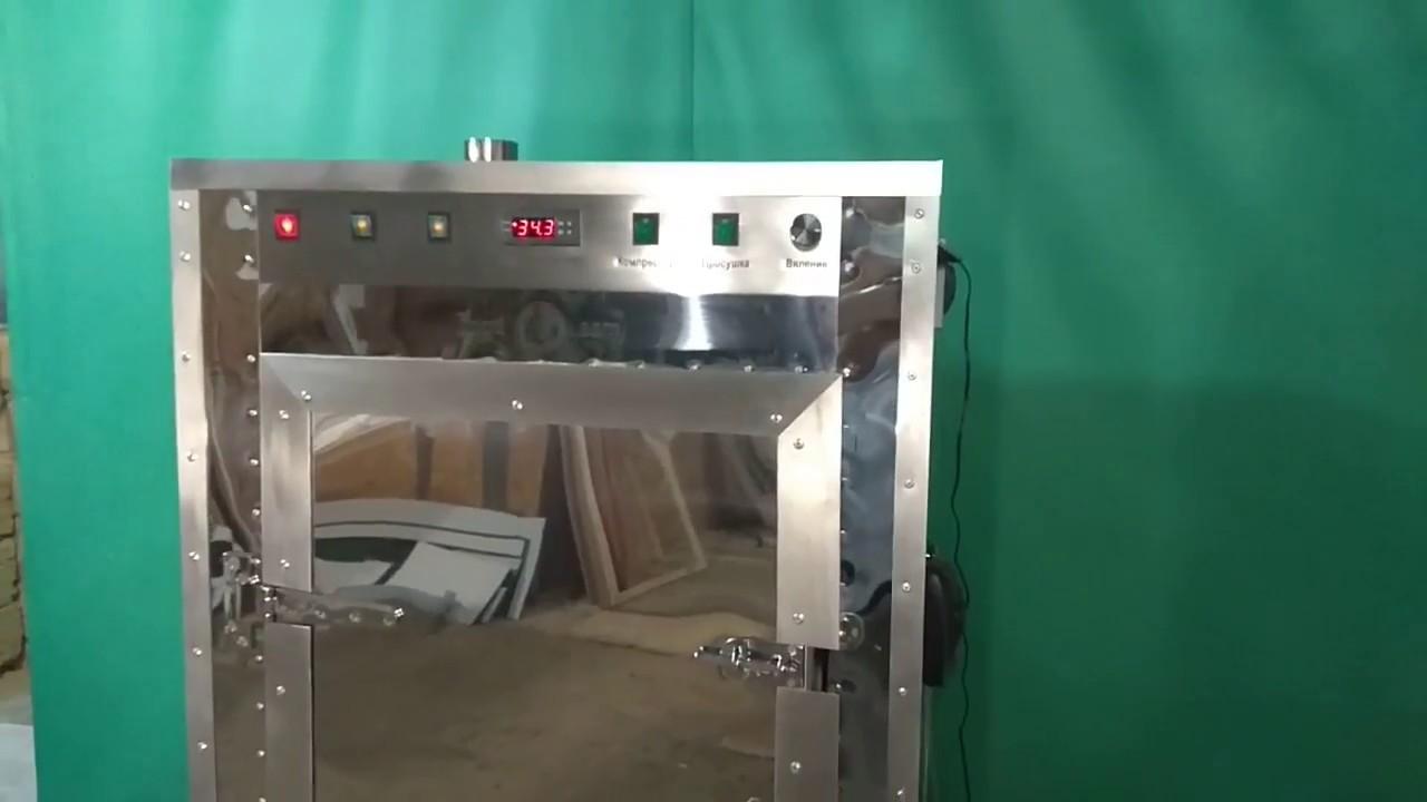 Профессиональный барбекю комплекс (мангал с вертелом) - YouTube
