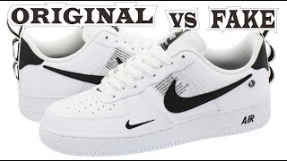 Nike Air Force 1 07 LV8 Utility Original & Fake