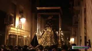 A PIE DE TRONO 2014: DOLORES DEL PUENTE POR POLVORISTA www.lacamaracofrade.com