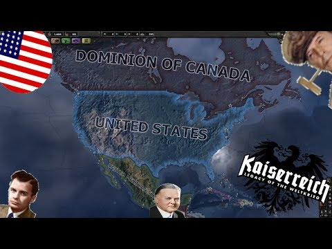 Hearts of Iron IV Kaiserreich - USA [8] The Excessively-Pacific States