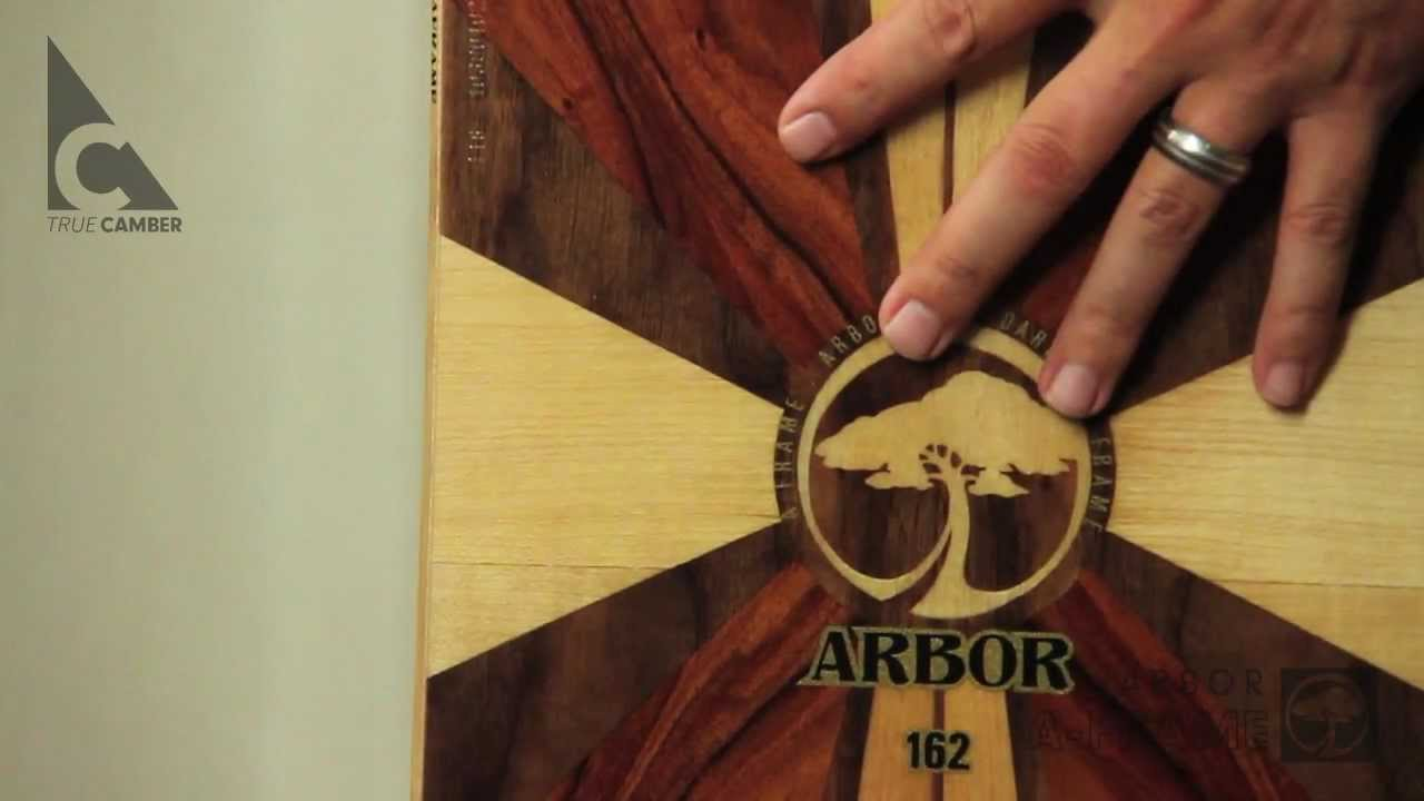 arbor snowboards 2012 product profiles a frame