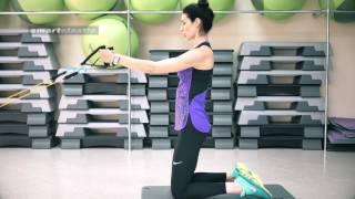 Упражнения с эспандером для спины по методу Доктора Бубновского в домашних условиях