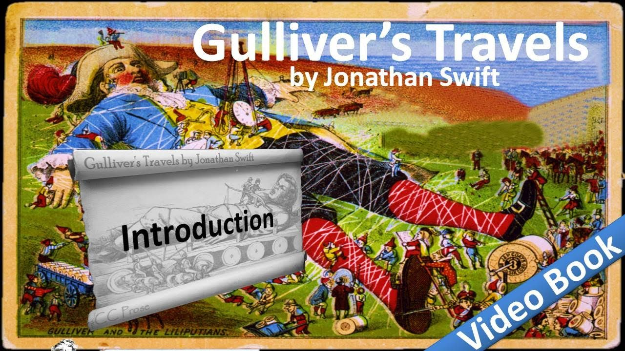 a plot analysis of the book gullivers travel