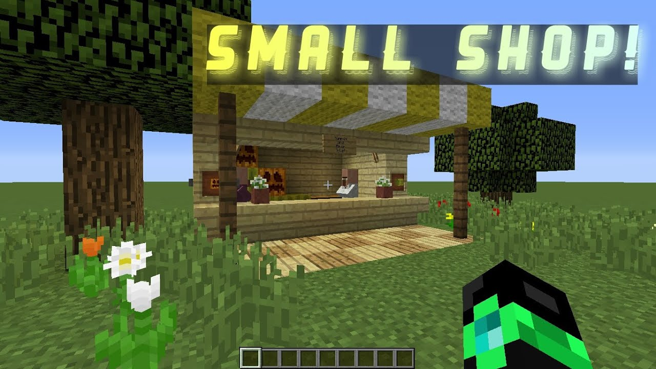 How To: Small Shop (Minecraft Build #11)