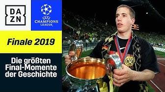 Die größten Final-Momente der Champions-League-Geschichte | UEFA Champions League | DAZN Highlights