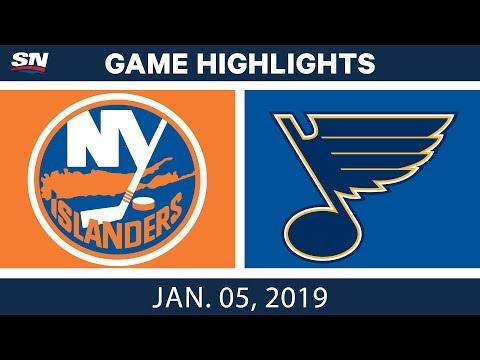 NHL Highlights | Islanders vs. Blues - Jan. 5, 2019