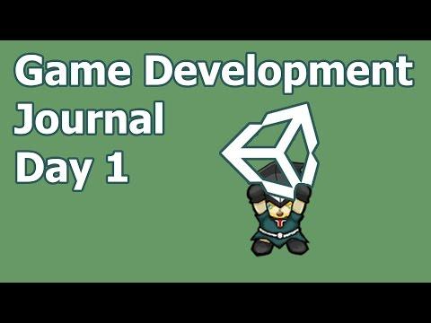 Day1 - Unity Game Development Journal