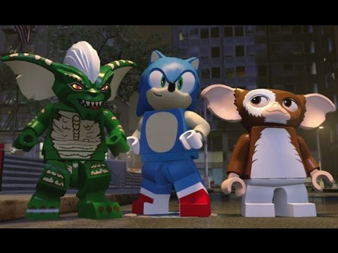 LEGO Dimensions - Gremlins Adventure World 100% Guide - All Collectibles (Through Wave 7)