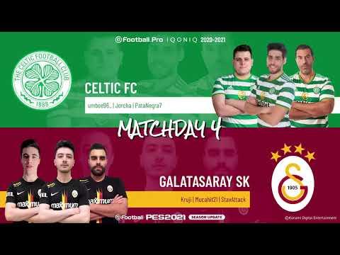 Celtic FC vs. Galatasaray SK | Highlights Matchday 4 eFootball.Pro IQONIQ 2020-2021