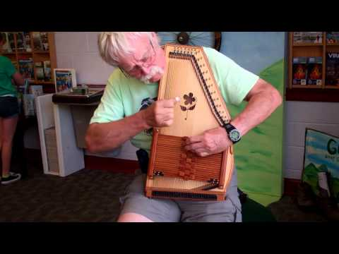 Autoharp hall of fame member, Lindsay Haisley plays at the VA Welcome Center at Bristol!