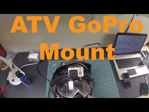 How To Mount Your GoPro On Your ATV, SXS or Motocross Helmet - Cyclops Mount