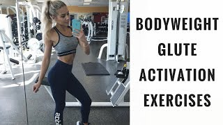 GLUTE ACTIVATION for a bigger BUTT
