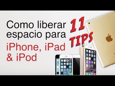 5eedb1ab5bb 11 Tips para liberar espacio en tu iPhone, iPad & iPod - YouTube