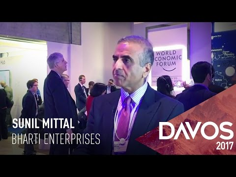 WEF 2017: Sunil Mittal On Freebies In Telecom Sector