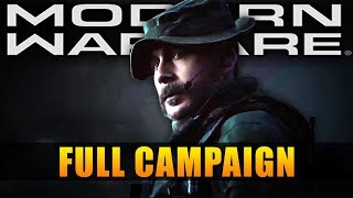 Call of Duty Modern Warfare All Cutscenes Movie - Full Campaign
