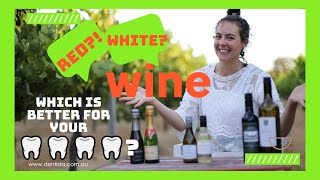 Dentist answers: Is red wine or white wine better for your teeth?! The pH of wine!