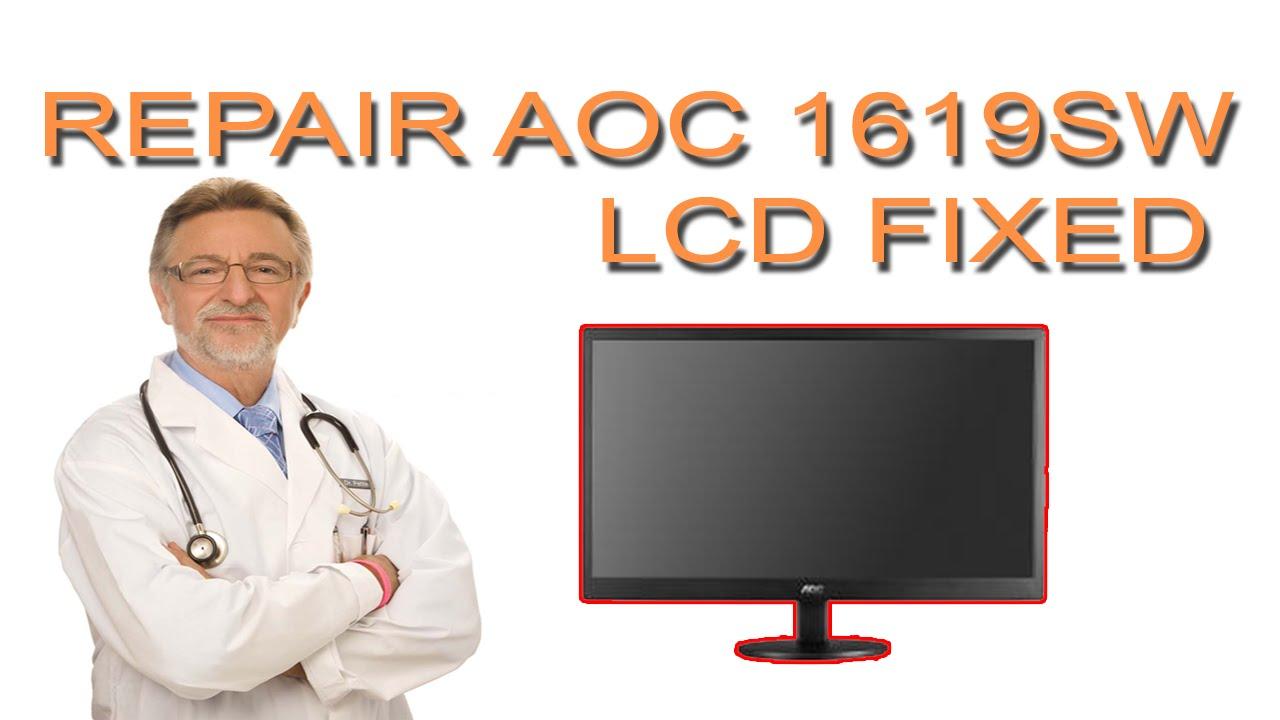AOC LCD 1619SW DRIVER UPDATE