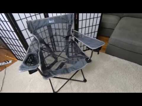 rei camp x chair baby swing vibrating combo review youtube