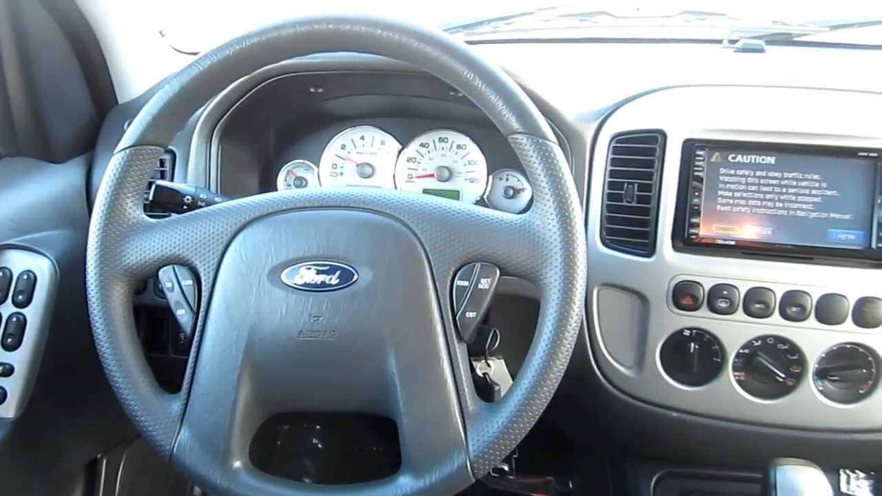2007 Ford Escape Hybrid 2wd Green Stock C3021a Interior