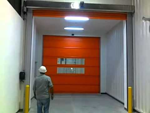 Pvc High Speed Roll Up Doors Quality Automations