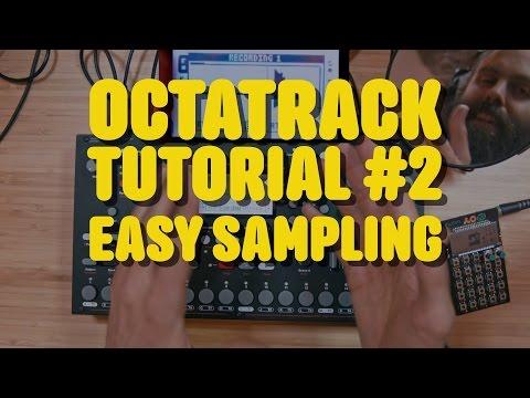 OCTATRACKTutorial #2 - sampling